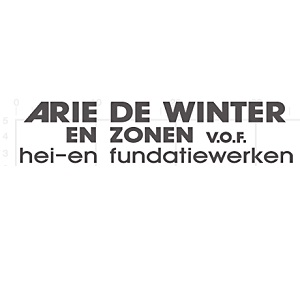 Arie de Winter en Zn